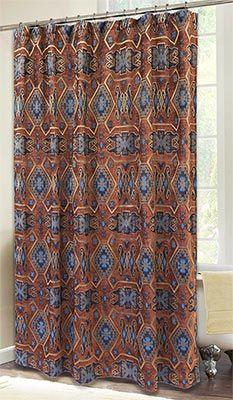 Saguaro Desert Southwestern Shower Curtain