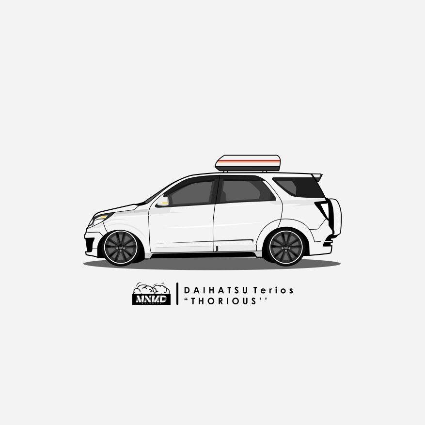 Daihatsu Terios Low Mode Thorious Mainmind Index Mobil Desain