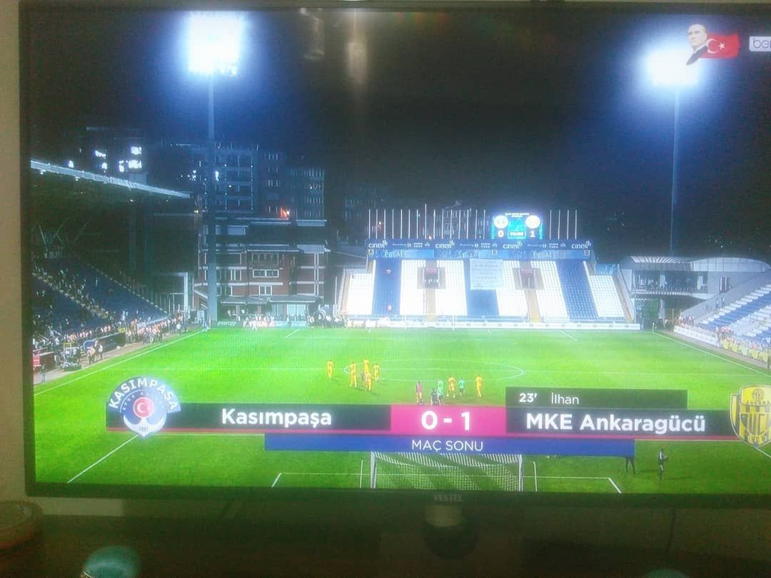 Kasmpaa 0-1 Ankaragc #galatasaray #fenerbahe #fb #kayserispor #gs #besiktas #bjk #trabzon #kasimpasa...