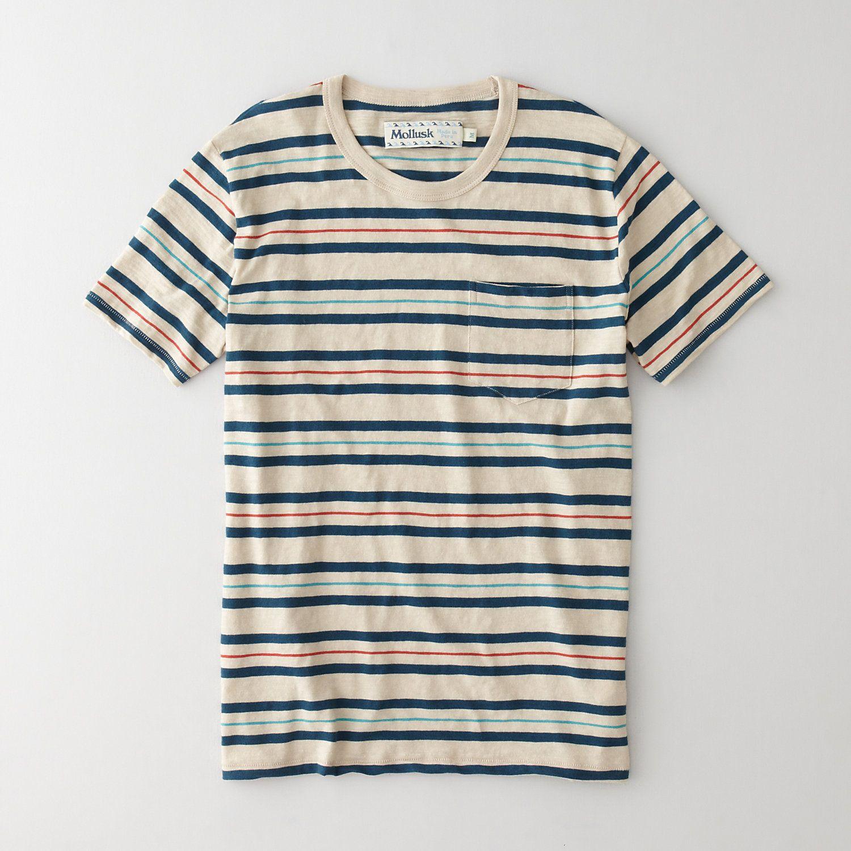 Mollusk Hang Ten Tee | Men's T-Shirts | Steven Alan