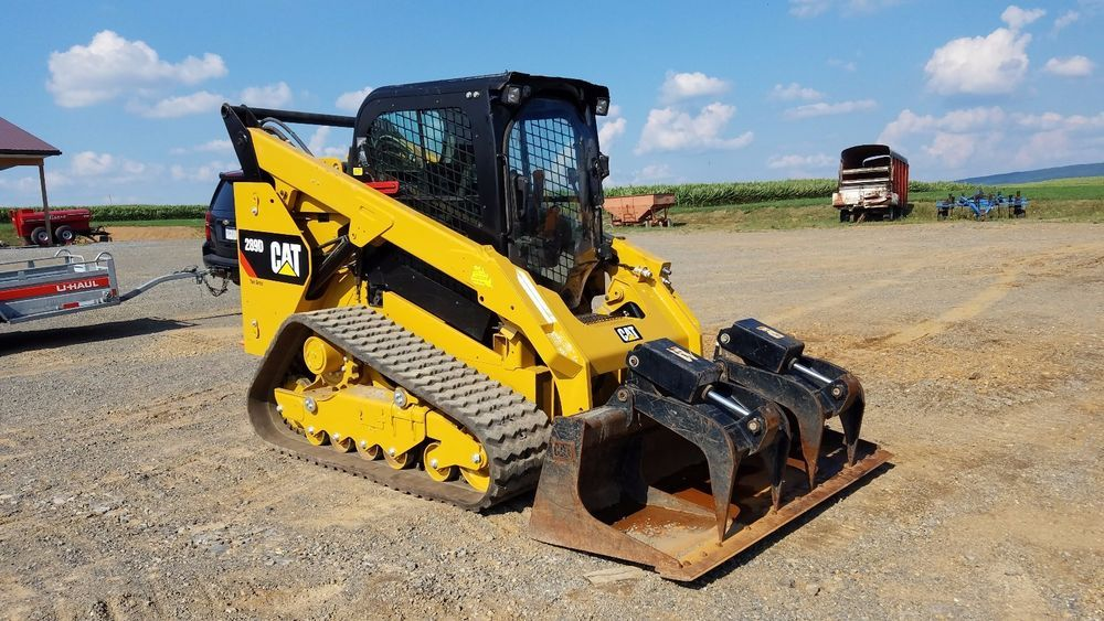 2013 Caterpillar 289D Compact Track Loader 2 Speed Quick