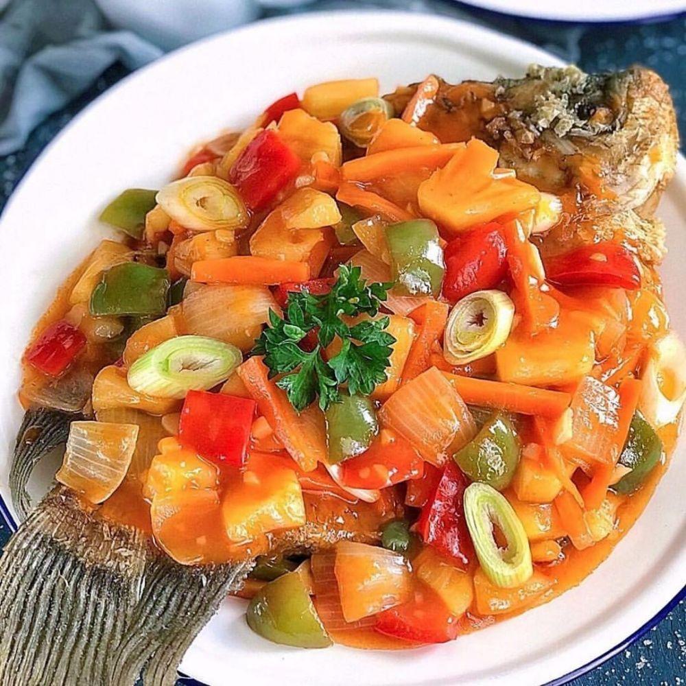 Olahan Ikan Gurame Instagram Di 2020 Resep Makanan Resep Resep Masakan