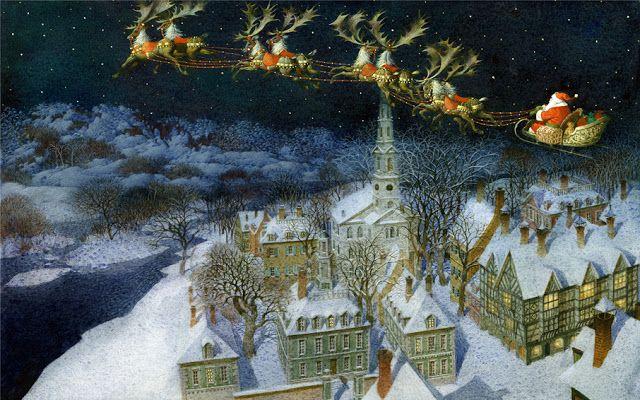 THE NIGHT BEFORE CHRISTMAS BY GENNADY SPIRIN