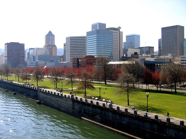 Portland Oregon Waterfront | Recent Photos The Commons Getty Collection Galleries World Map App ...
