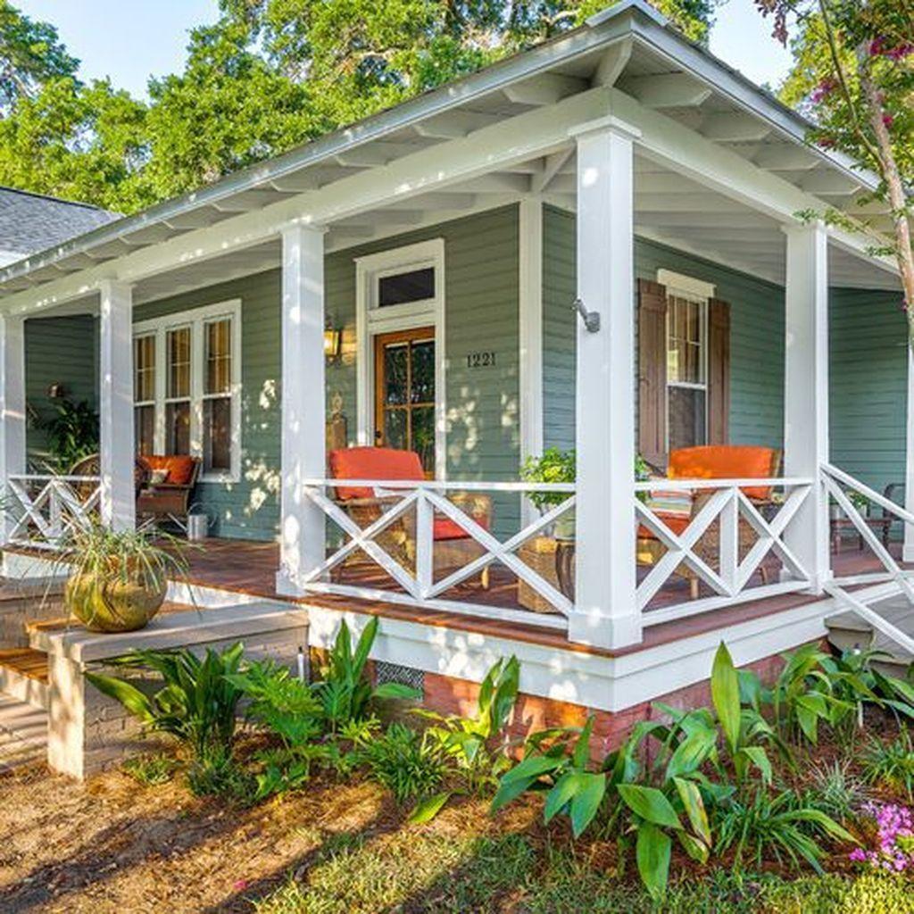 30 Inspiring Diy Front Porch Decoration Ideas Decoration Diy Front Ideas Inspiring Porch In 2020 Small Front Porches Designs Front Porch Decorating Porch Design