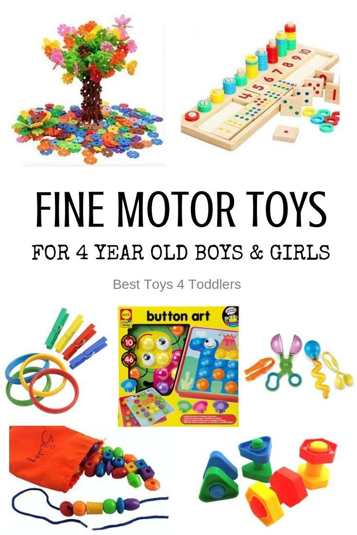 Top 10 Toys That Promote Fine Motor Skills for 4 Year olds ...