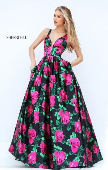 Vestidos para fiesta floreados
