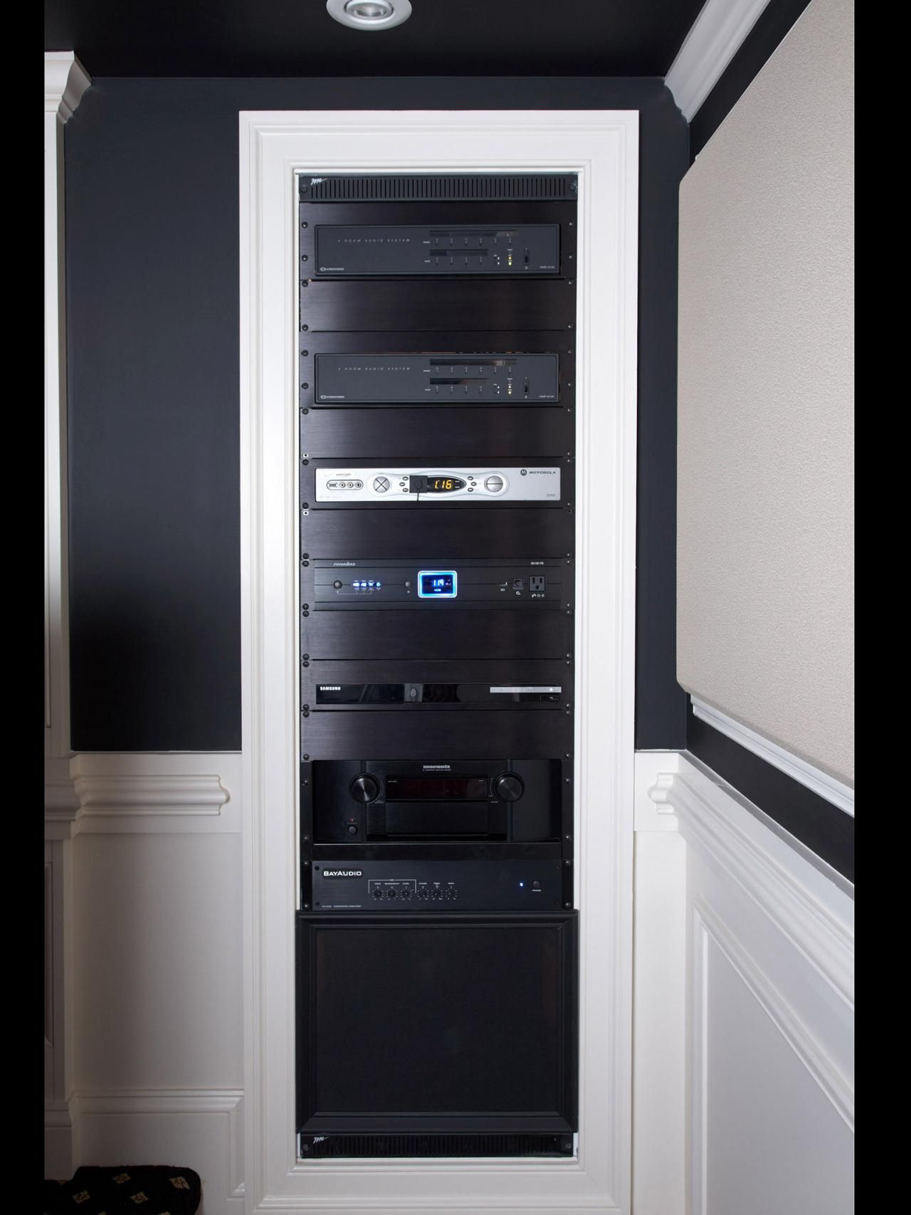 home theater network rack - Google Search   Rack of My Dreams ...