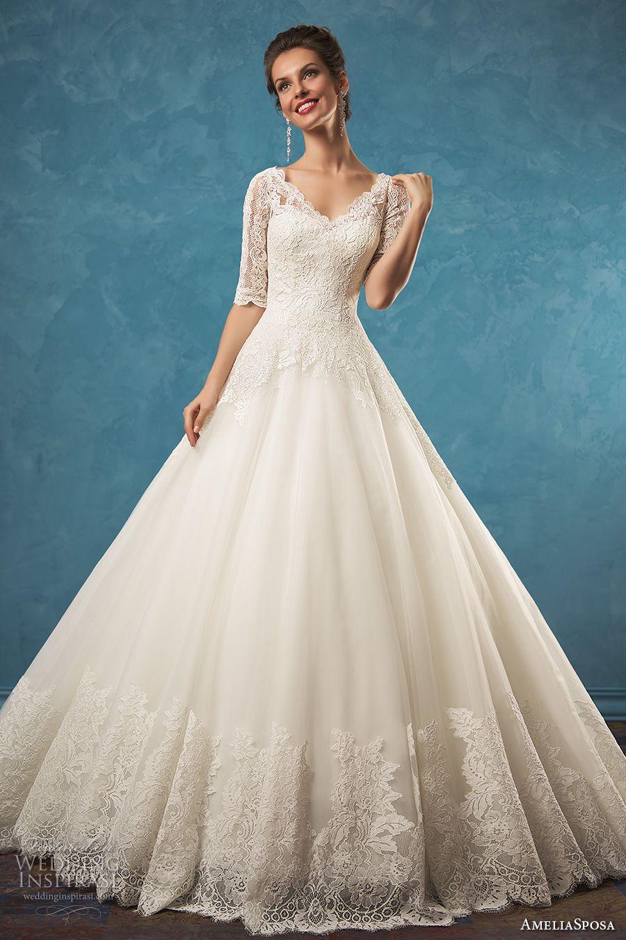 Amelia Sposa 2017 Wedding Dresses | Novios, Vestidos de novia y De novia