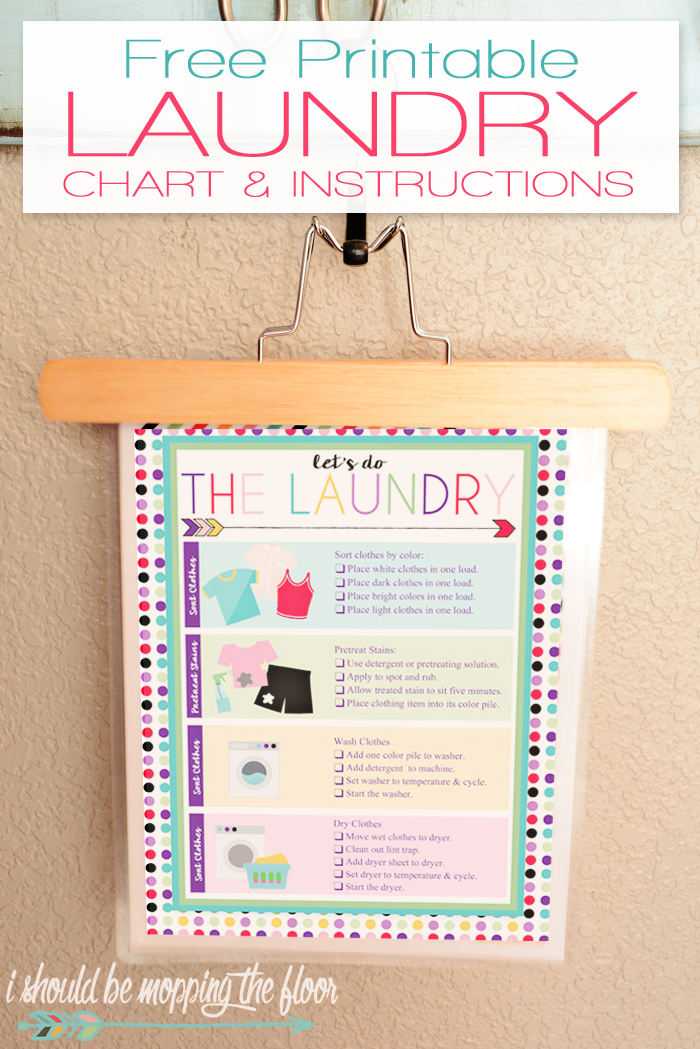 Free Printable Laundry Chart Chore Chart Kids Chores For Kids