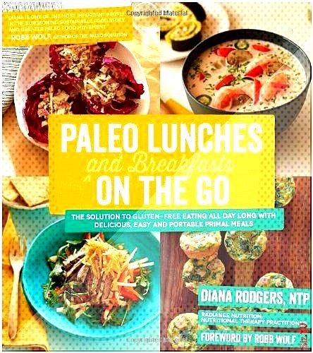 Paleo Lunches and Breakfasts On the Go The Solution to Gluten-Free Eating All Day Long with Delicio