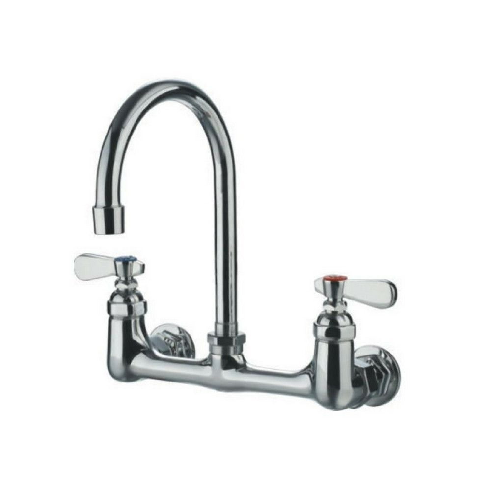Whitehaus Wall Mount Farm Sink Faucet WHFS9814-P5-C | Laundry Room ...