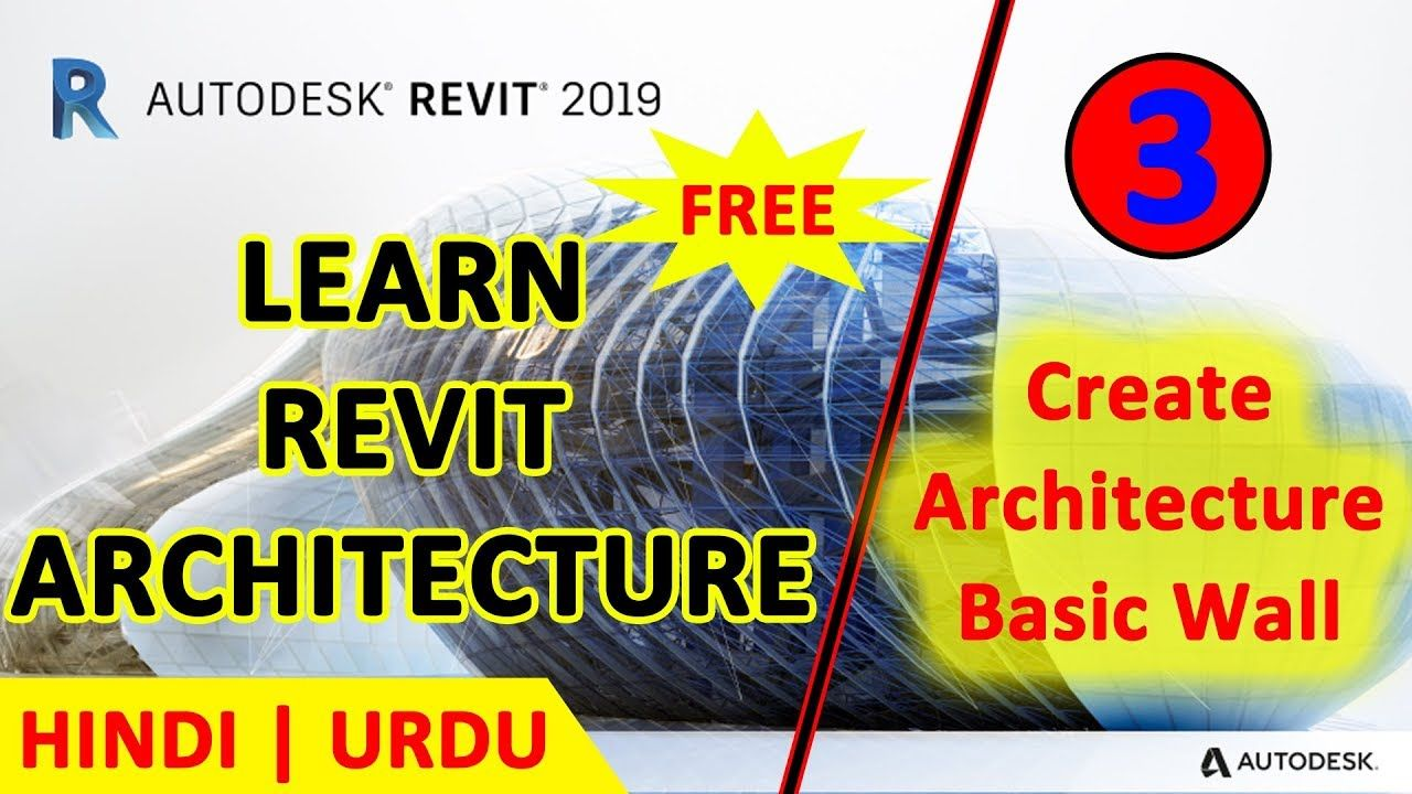 03 Create Basic Architecture Wall Revit Architecture 2019 Full