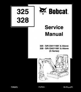 Best download bobcat 325 328 compact excavator service