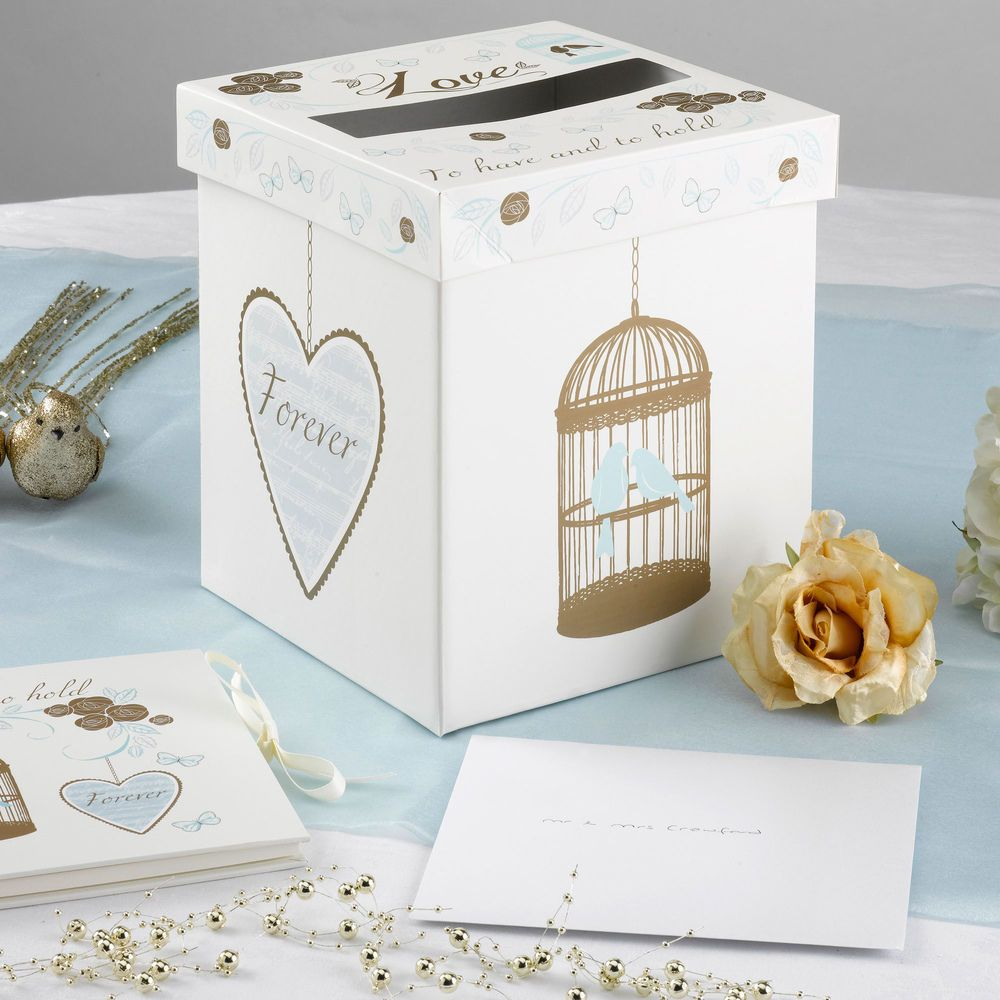 Wedding post box decorations  To Have and To Hold  Large Wedding Card u Gift Post Box Venue Table