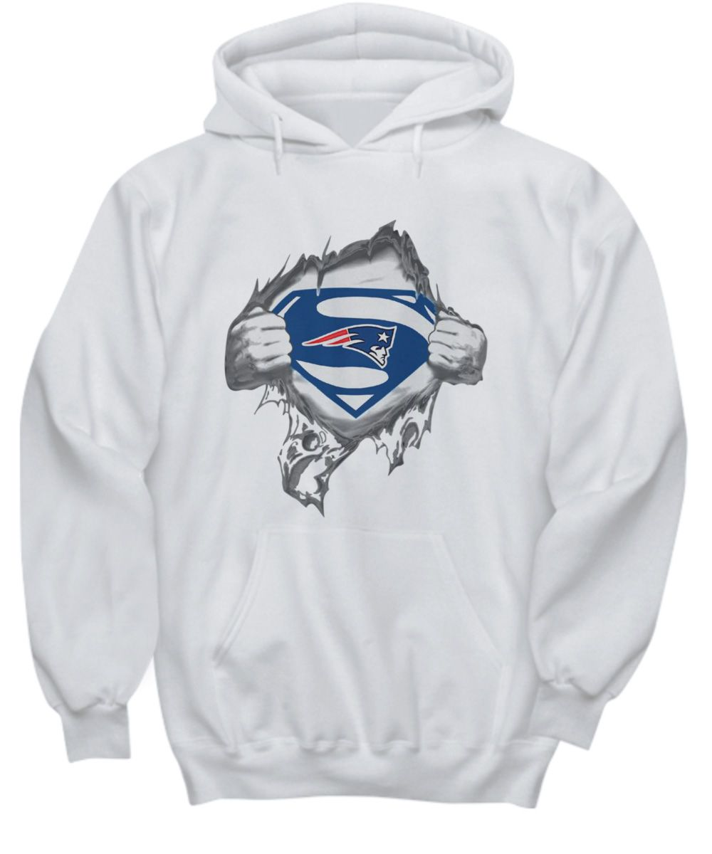 10k Sold Superman New England Patriots Shirt Hoodie Sweatshirt New England Patriots New England Patriots Hoodie Patriots
