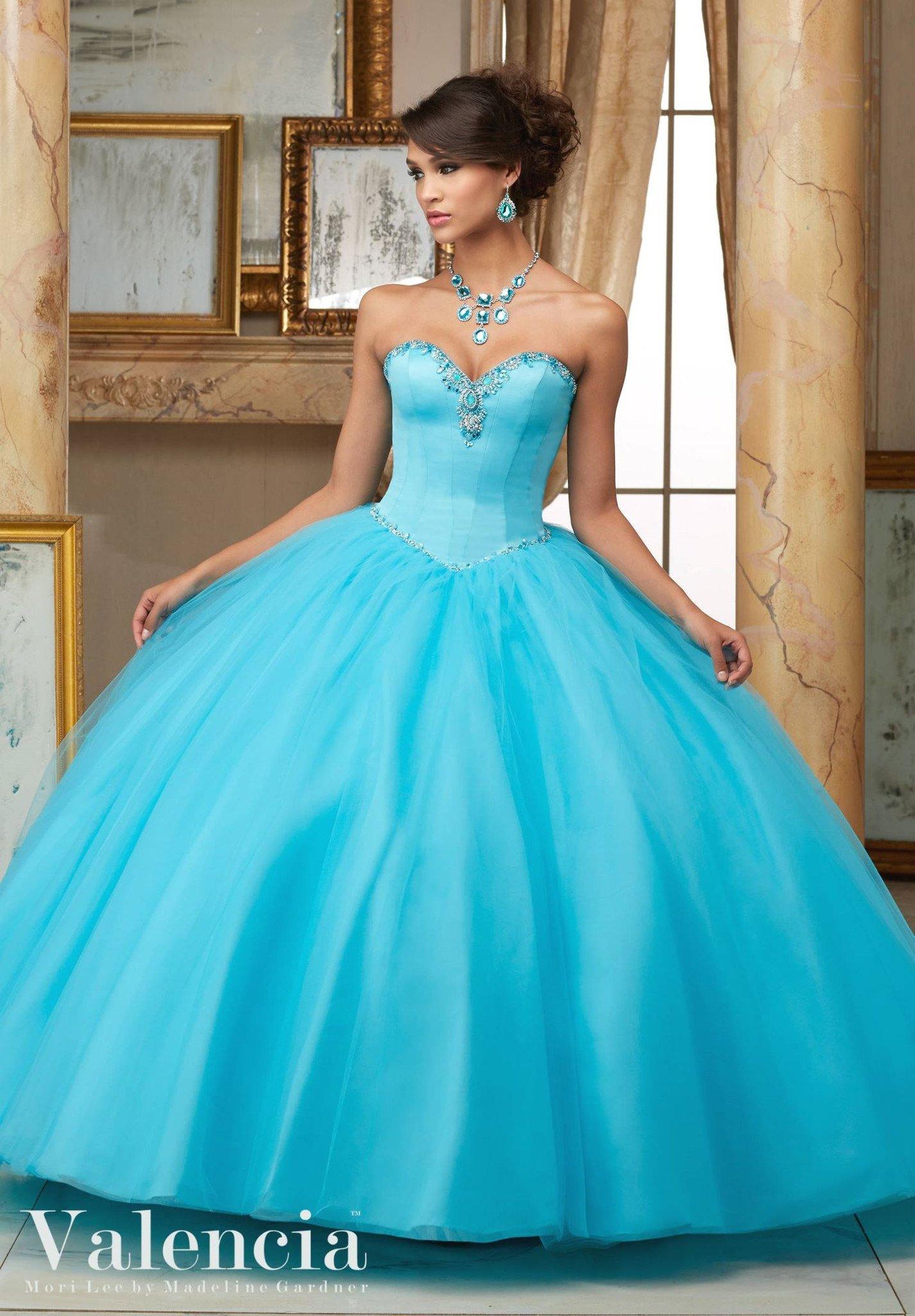 Mori Lee Valencia Quinceanera Dress 60005 Vestido Para 15