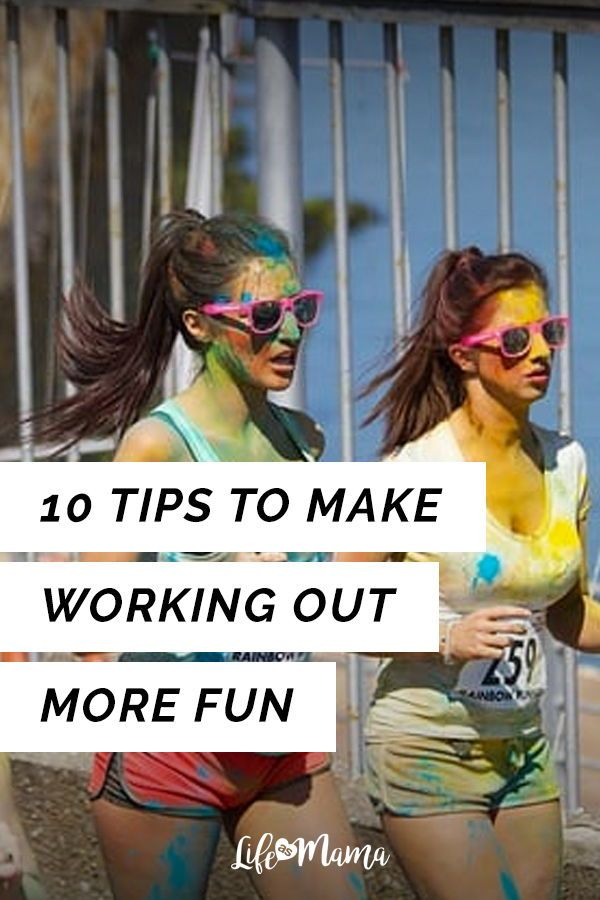 If you're like me, you have two options when it comes to working out. You can deal with the misery a...