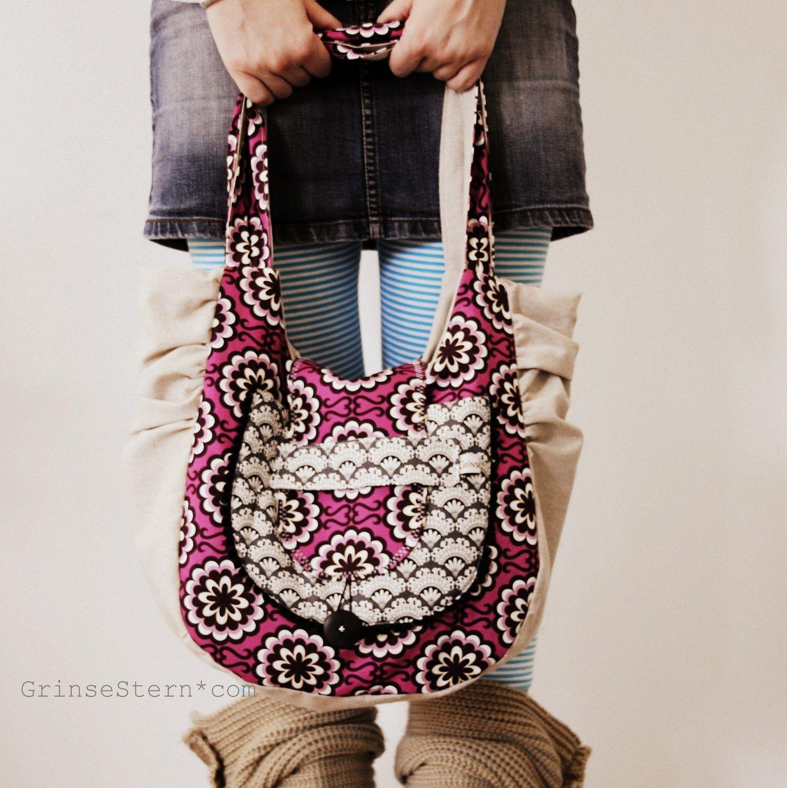 big beach bag | Taschen nähen | Pinterest | Taschen nähen und Nähen