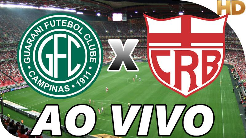 Guarani X Crb Ao Vivo Na Tv Hd Con Imagenes Liga De Futbol Atleta