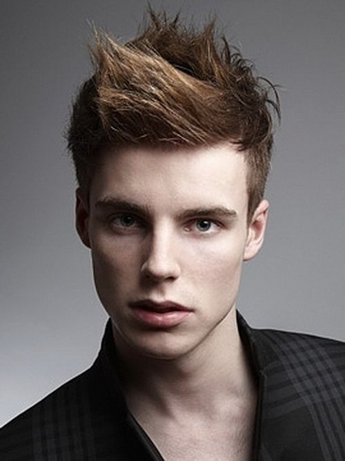 male hair styles 2013 colored