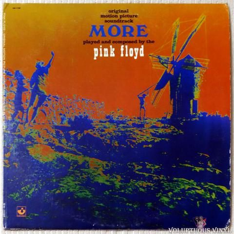 Pink Floyd Original Motion Picture Soundtrack From The Film More 1973 Pink Floyd Music Pink Floyd Pink Floyd Vinyl