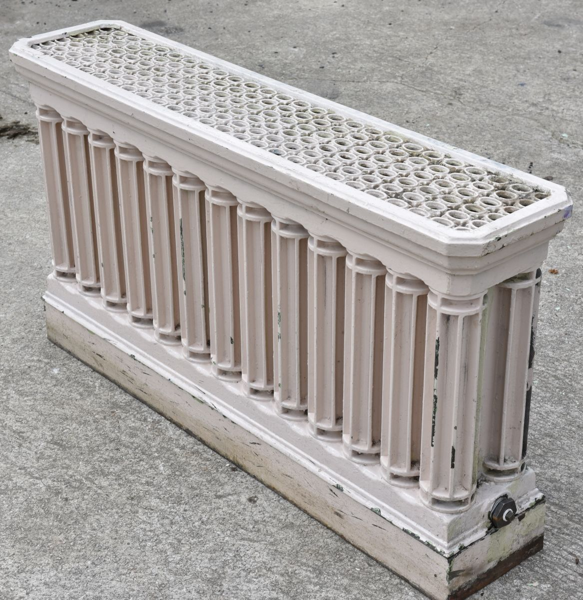 Alte Gussheizkörper Exceptional And Rare Double Deep Columned Cast Iron Radiator With