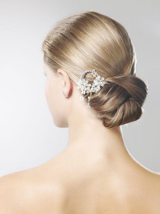 Peinado novia clasica
