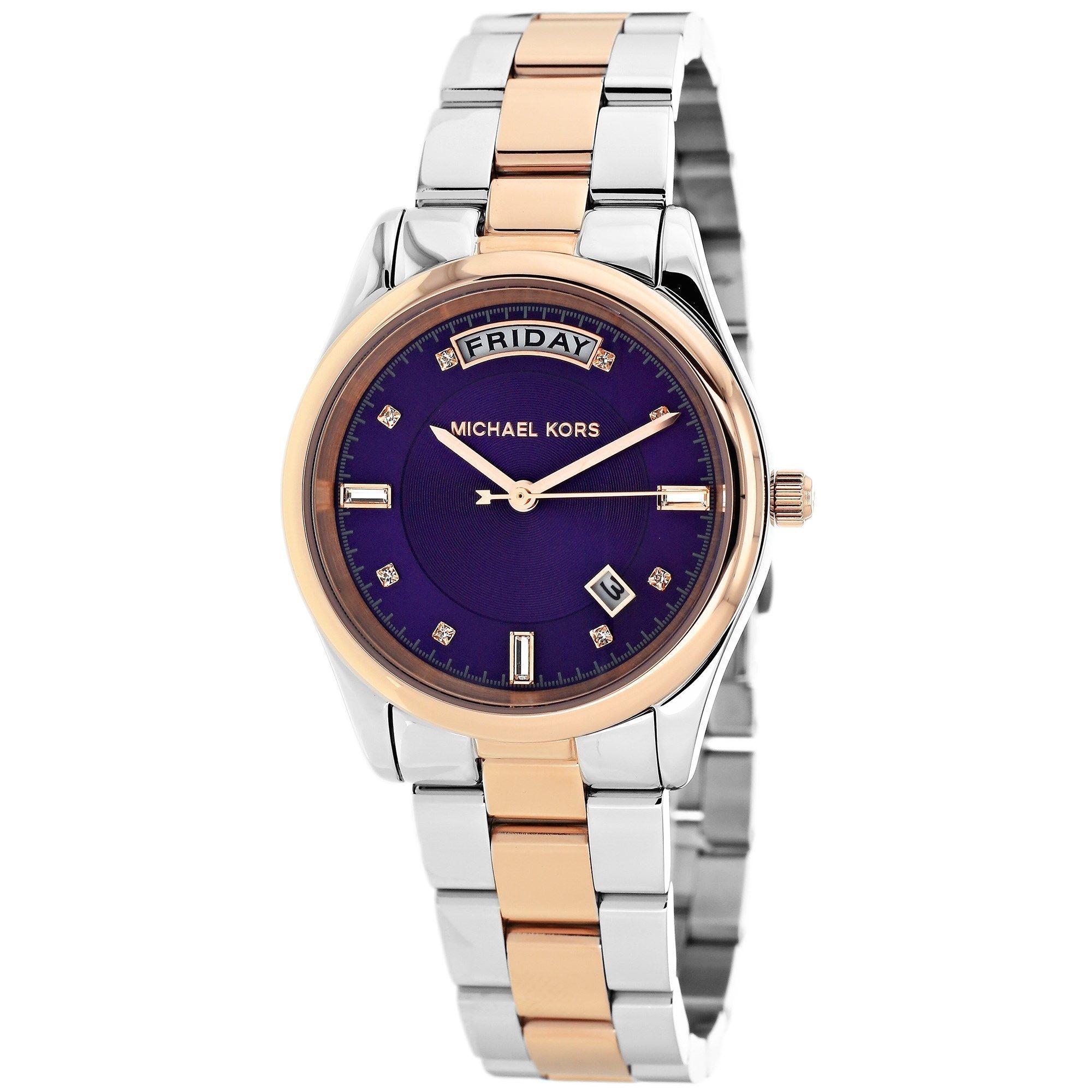 Michael Kors Women's MK6072 Colette Round Two-tone Bracelet Watch