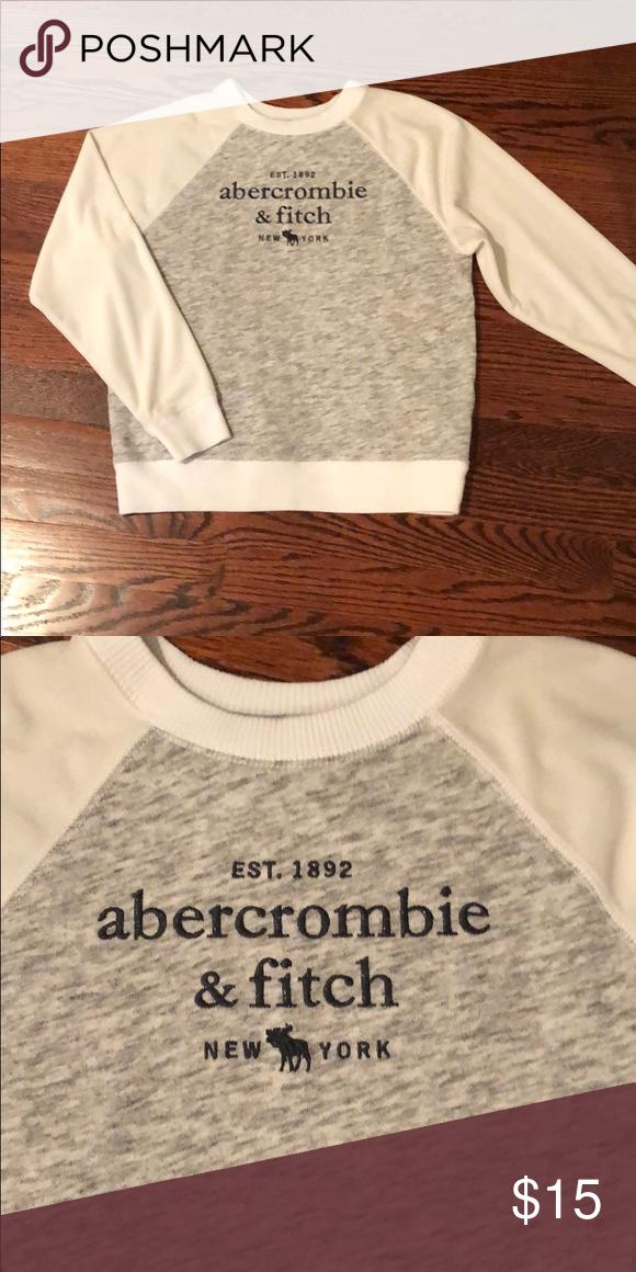 abercrombie kids sweat shirt