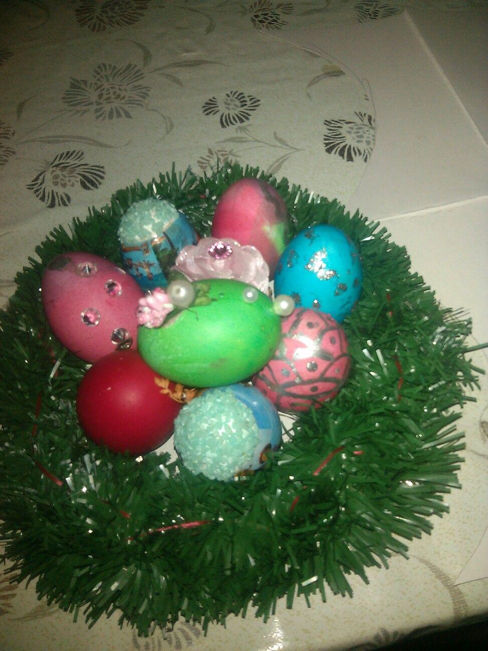Boyali Yumurta Painting Eggs Novruz Bayrami Azәrbaycan Christmas Bulbs Christmas Ornaments Holiday Decor