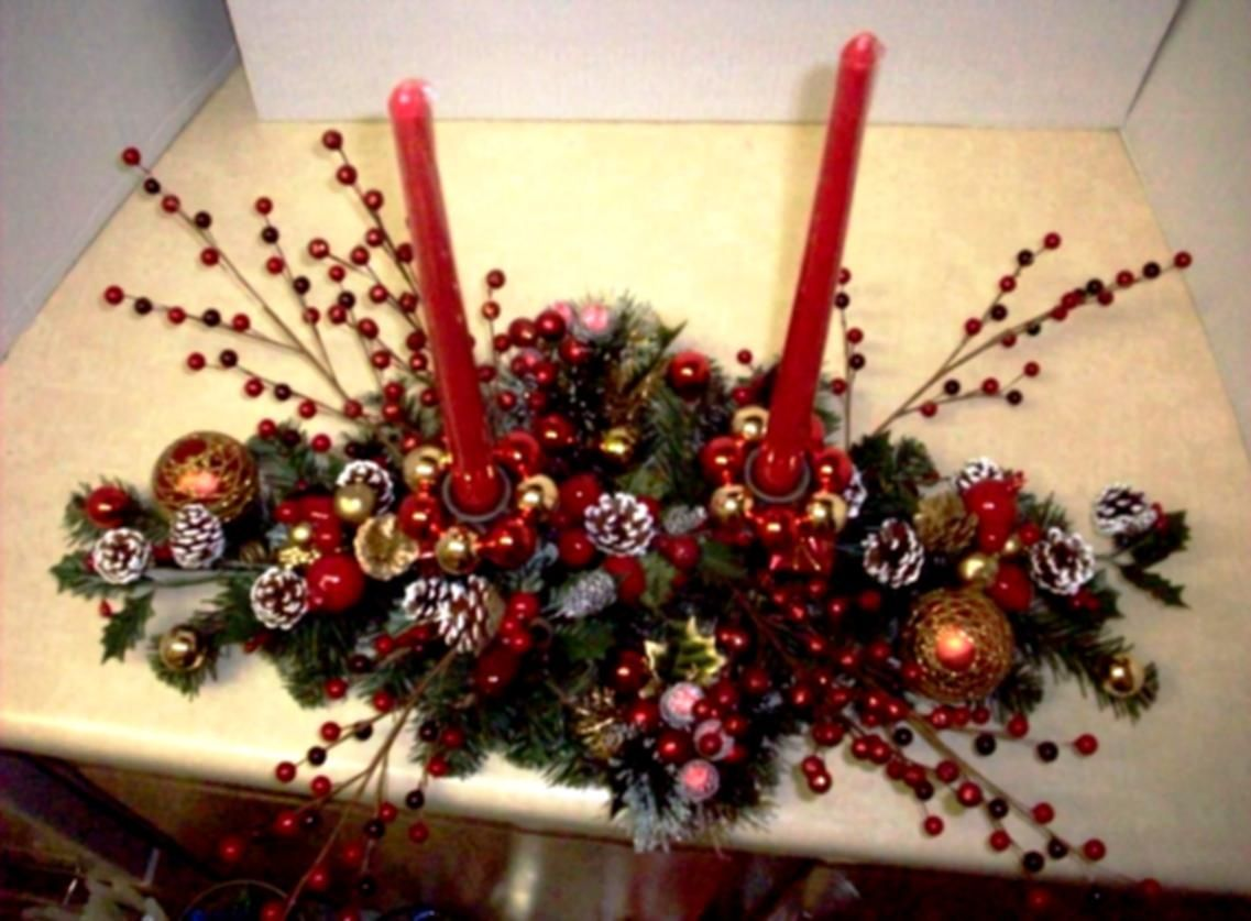 Custom Easy Make Christmas Table Decorations F 2541 Dkazpi Fresh On .. Part 37