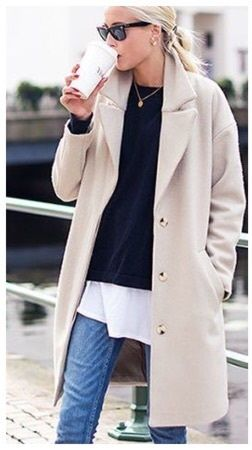 Morning Cream Coat | NeReA