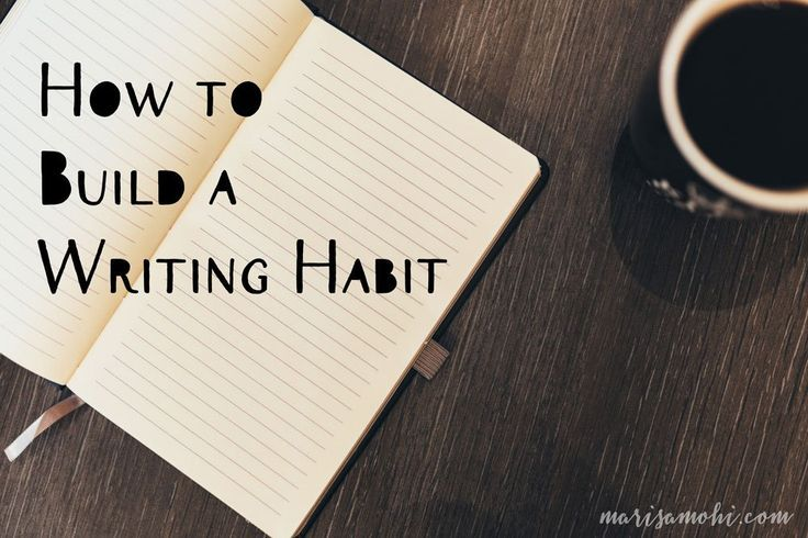 How to Build a Writing Habit Garage organization tips