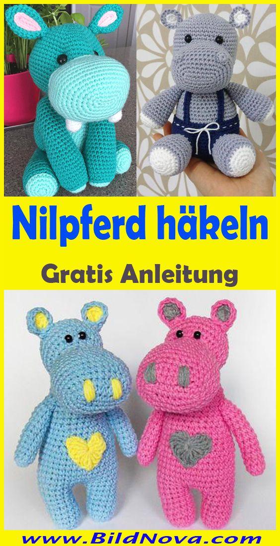 Photo of Nilpferd häkeln – Einfache & kostenlose Anleitung