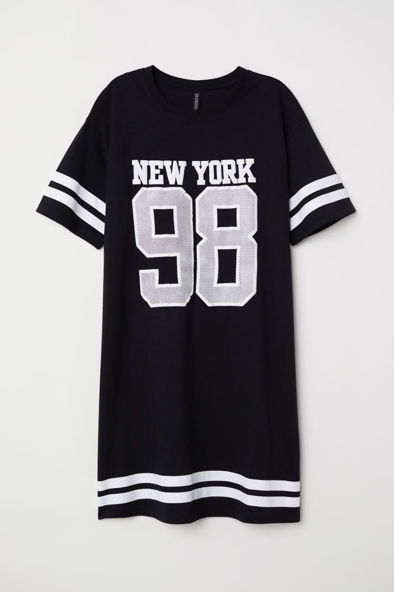 Robe T shirt | Robe t shirt noir, Robe tshirt et Robe