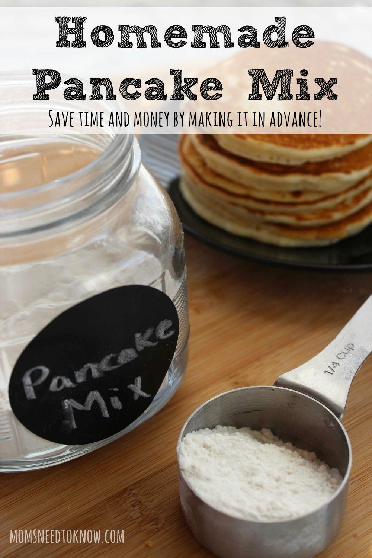 How To Make Your Own Homemade Pancake Mix Recipe