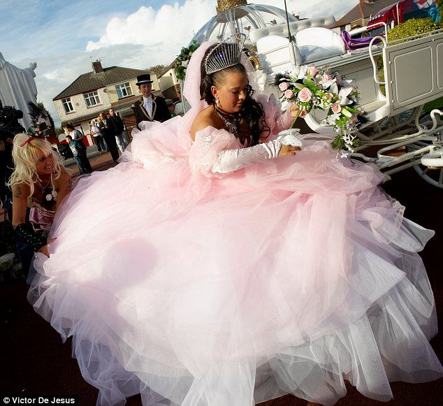 We Reveal The GBP140000 Cost Of Those Big Fat Gypsy Weddings Just Dont Ask Where Cash Comes From