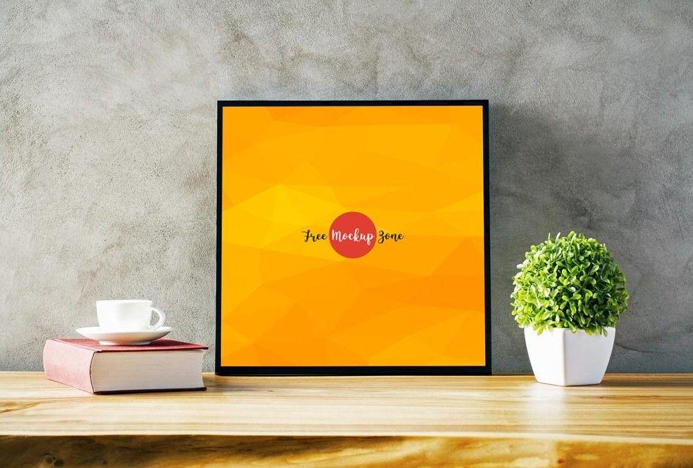 Square Photo Frame Mockup | Pinterest