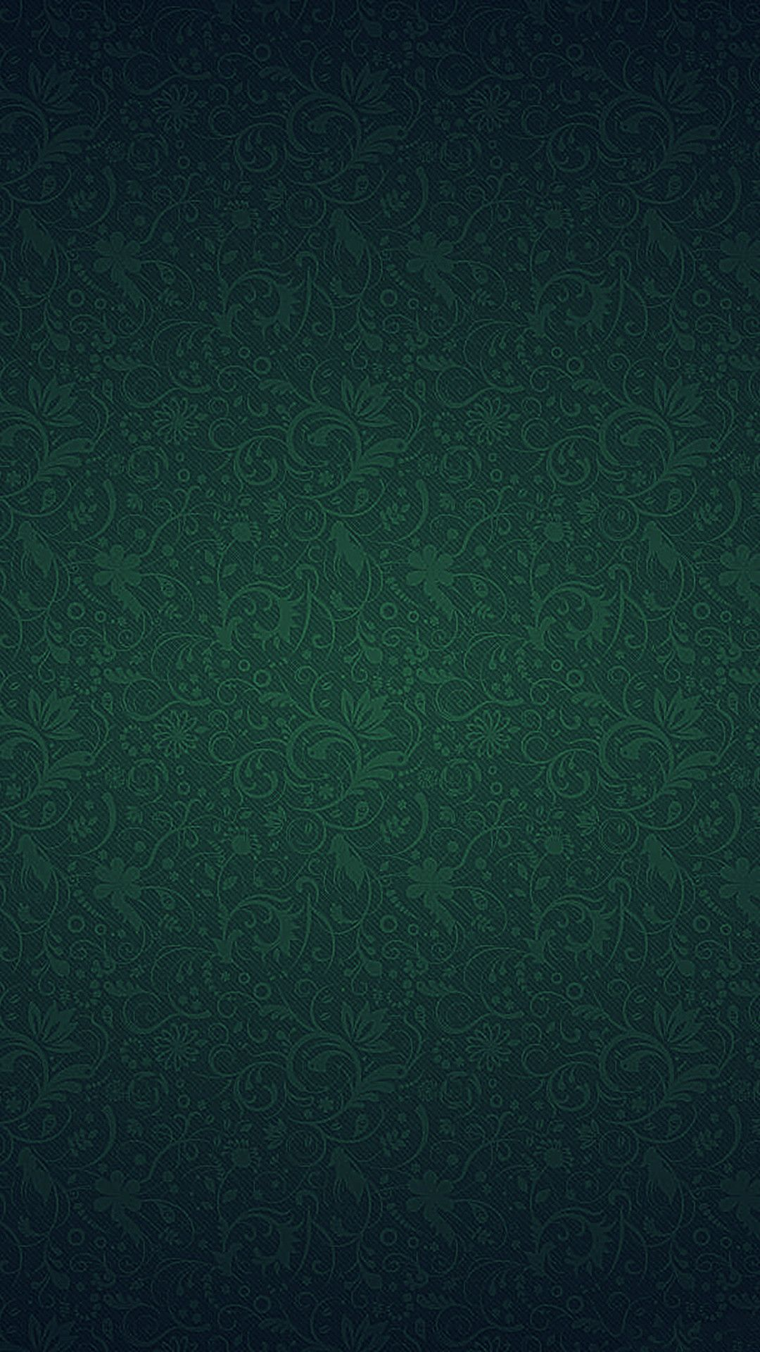1080x1920 Green Ornament Texture Pattern Iphone 7