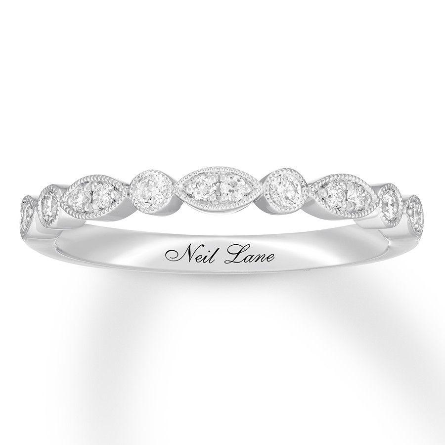 edaca643b Neil Lane Bridal Wedding Band 1/5 ct tw Diamonds 14K White Gold - 120929524  - Jared