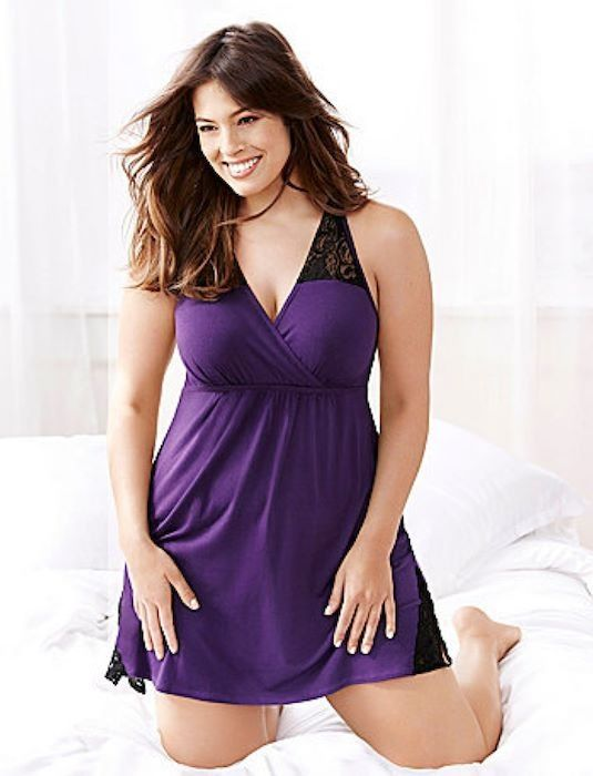 Amusing idea Hot plus size lingerie models there can