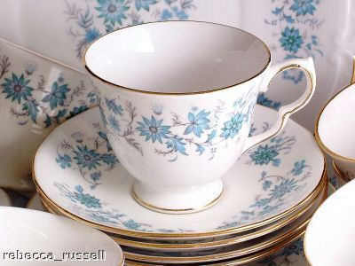 Colclough China Quot Braganza Quot Cup Amp Saucer The Tea Set