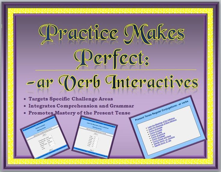 Spanish Interactive Exercises Present Tense Of Regular Ar Verbs Learn A New Language Teaching Spanish Rote Learning