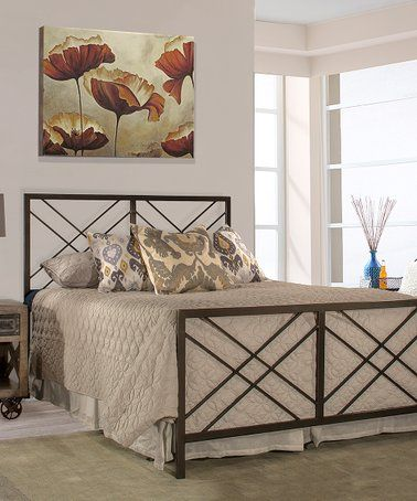 Look What I Found On Zulily Pewter Westlake Bed