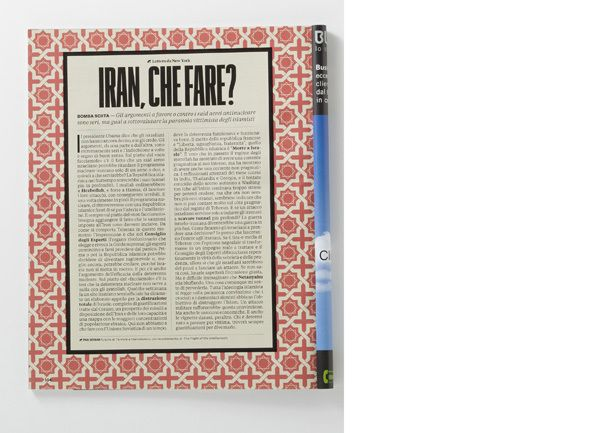 RANE: Cultural Section of IL Magazine | MagSpreads | Magazine Layout Inspiration and Editorial Design