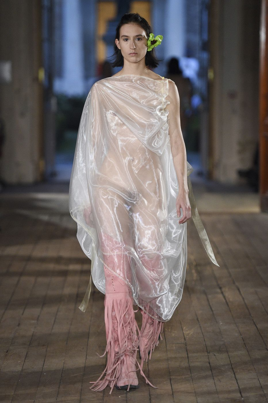 9119f458 Neith Nyer at Paris Fashion Week Spring 2018 in 2019 | Things to ...