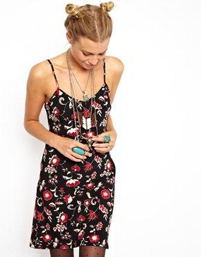 218e65498e694 Reclaimed Vintage 90s Floral Slip Dress | Fashion | Dresses, Asos ...
