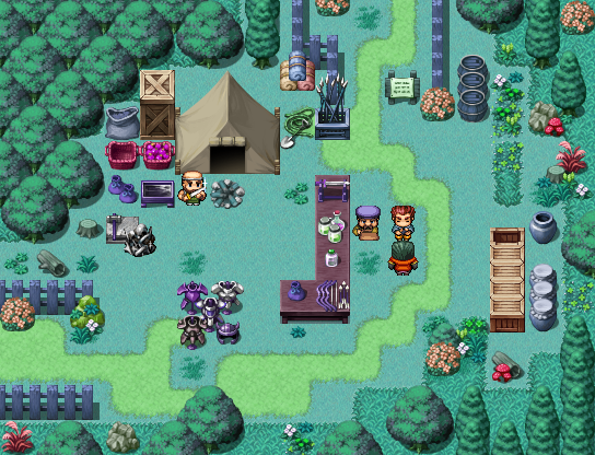 Guide to simple tileset edits [Rearranging, clumping and