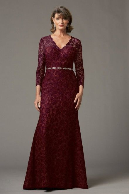 f07b00e1b8d86 15 Stunning Marsala Dresses for the MOB mother of the bride